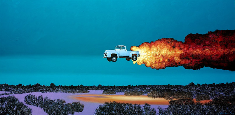 Explosive Paintings by Sean William Randall