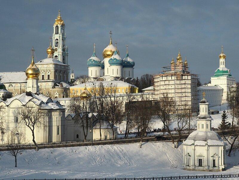 Сергиев Посад - Троице-Сергиева Лавра (Sergiev Posad - The Trinity Lavra of St. Sergius)
