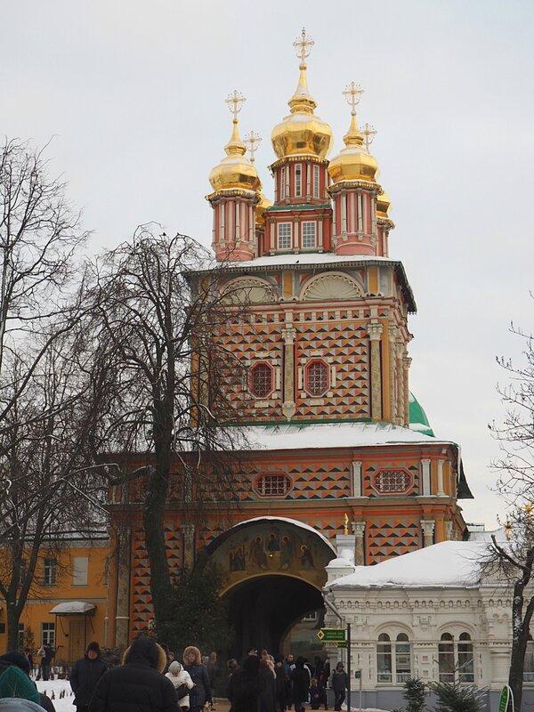 Троице-Сергиева Лавра - ворота (The Trinity Lavra of St. Sergius - gate)