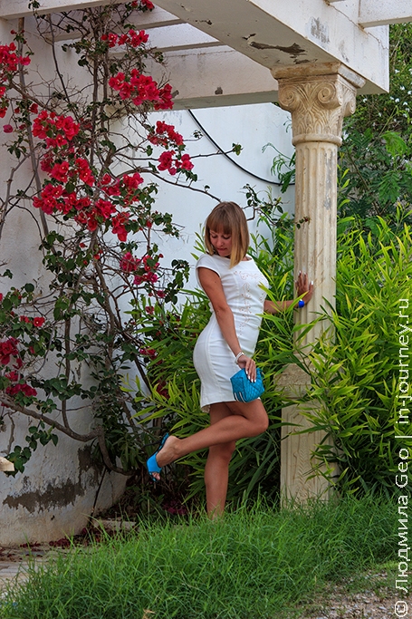 территория отеля les colombes тунис