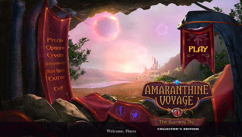 Amaranthine Voyage: The Burning Sky CE