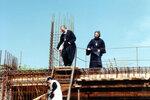 29.07.2000 г., На строительной площадке.