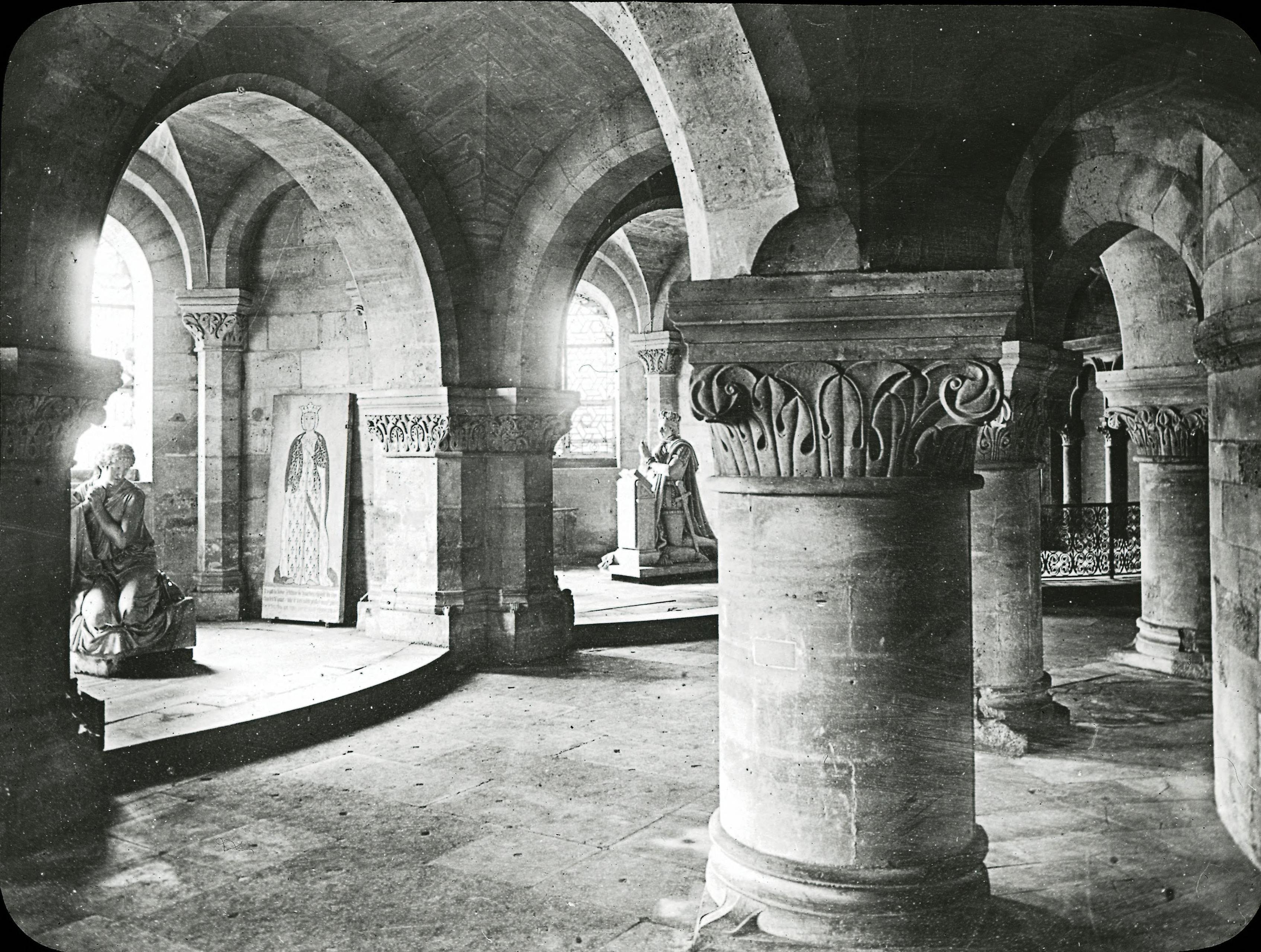 Аббатство Сен-Дени. Крипта