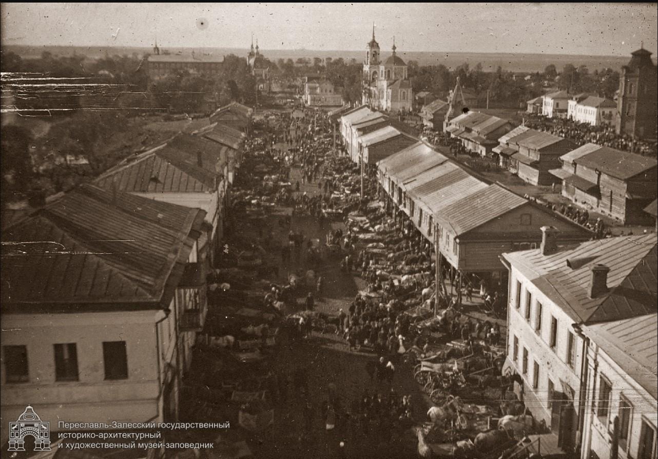Вид на Плещеевскую улицу