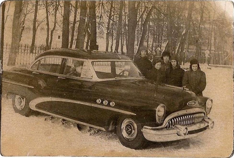 1950-е. Машина МГБ