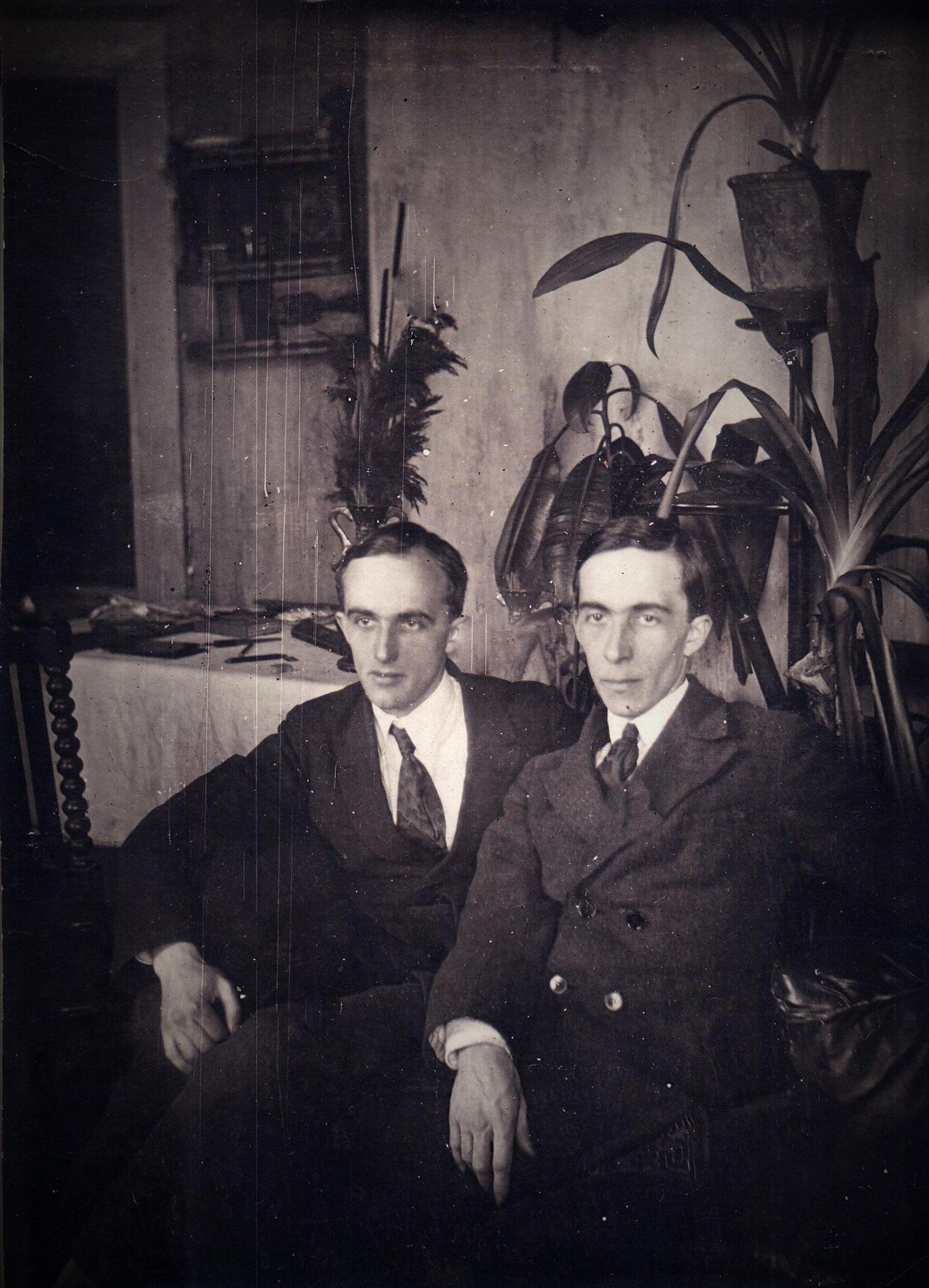 1930-е. Братья Козыревы. Евгений Михайлович и Борис Михайлович