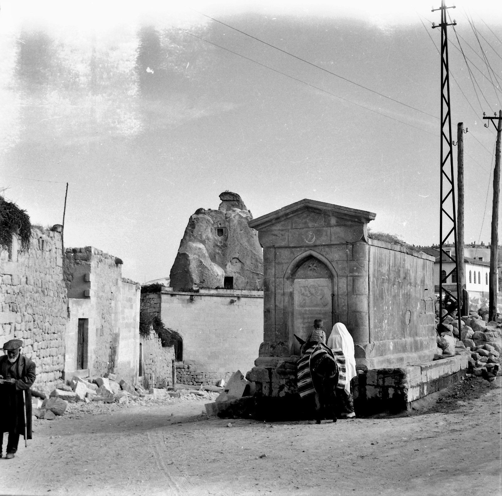 Каппадокия. Ортахисар, или «Средняя крепость»