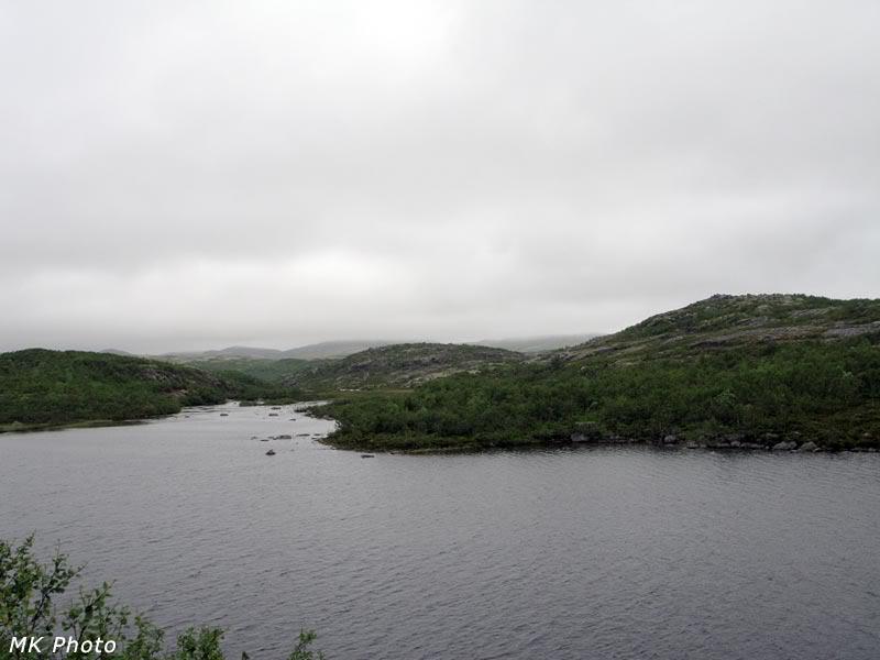 Исток Белоусихи из Рунгозера