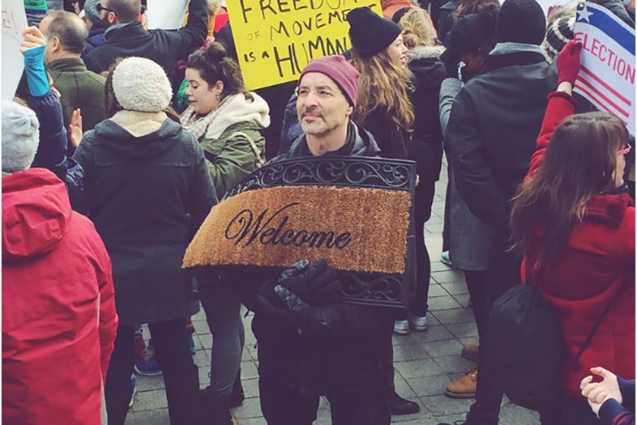 Как американцы протестуют против Трампа