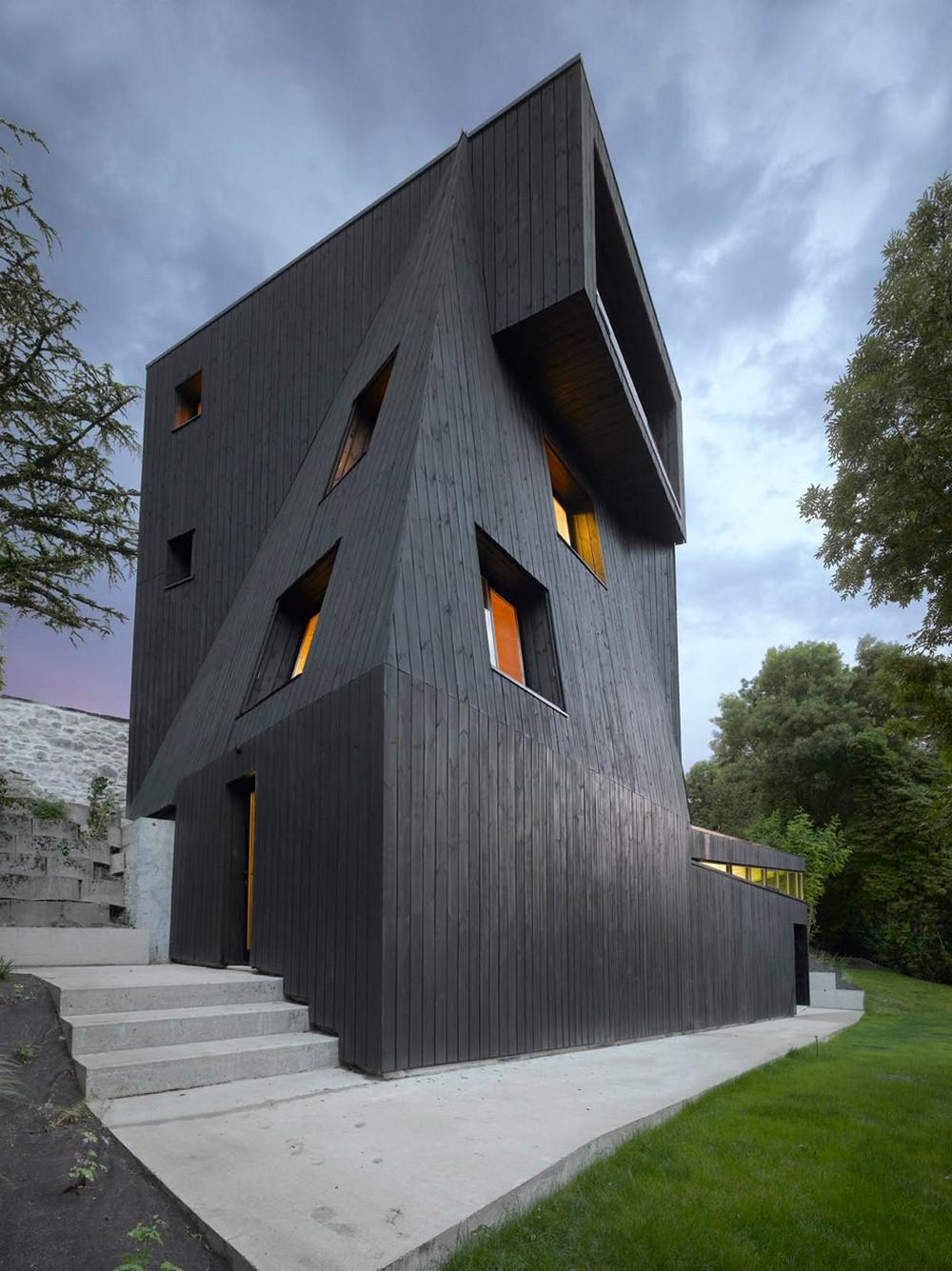 Дом-«крепость» во Франции