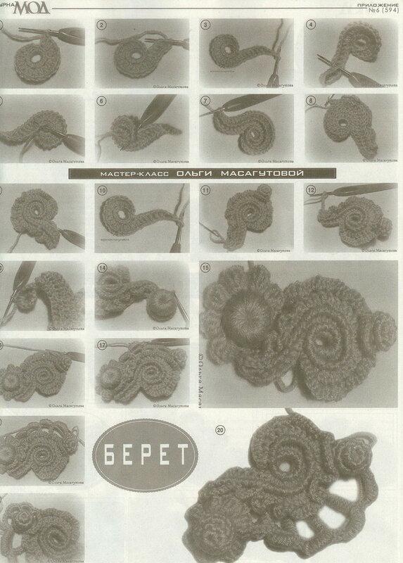 Журнал мод 594 вязание стильные модели 1