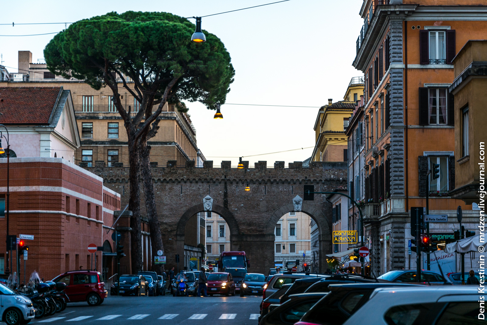 Рим. Где-то в окрестностях Ватикана