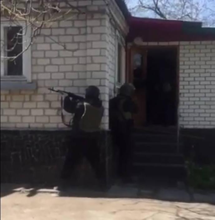 Спецназ освободил бизнесмена, которого похитили ради выкупа