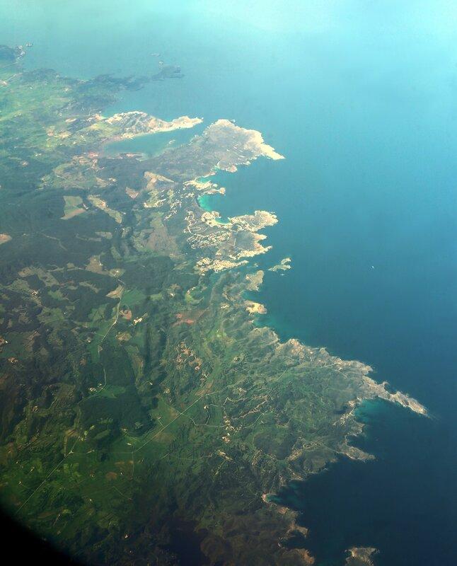 Менорка. Вид с воздуха