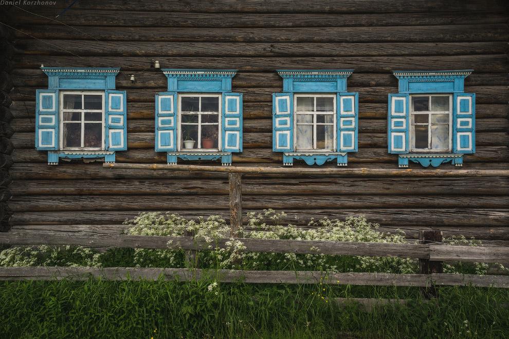 32. А это уже деревня Карпово недалеко от Вершинино, в последний день.