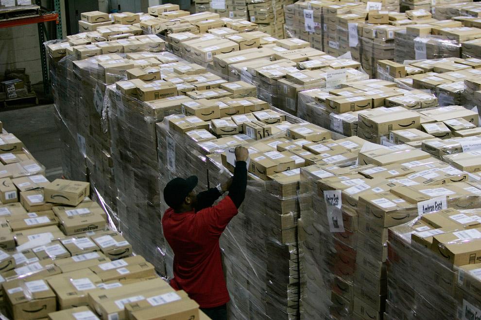 Склад в Нью-Касл, штат Делавэр. (Фото Tim Shaffer | Reuters):