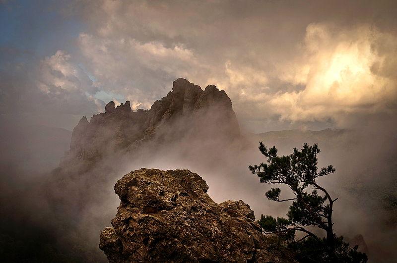 Каньон реки Цице в Кавказском биосферном заповеднике. Автор фотографии пользователь Synaps-s