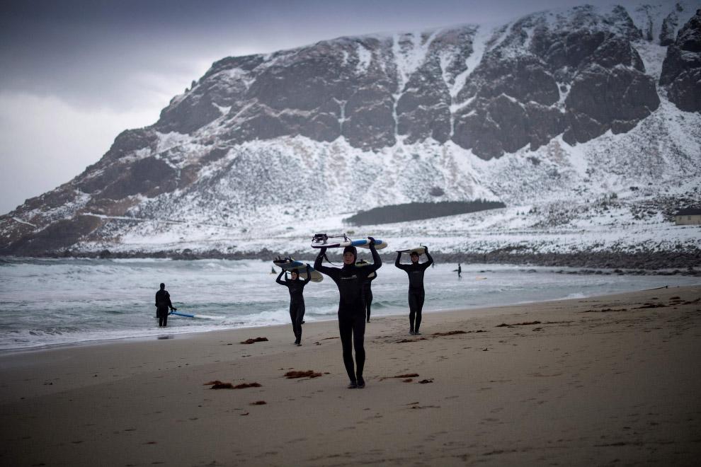 11. Поймал нордическую волну. (Фото Olivier Morin):