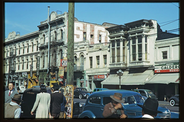 Пока СССР воевал с фашистами: цветные фото мирного Лос-Анджелеса в годы Второй мировой и после