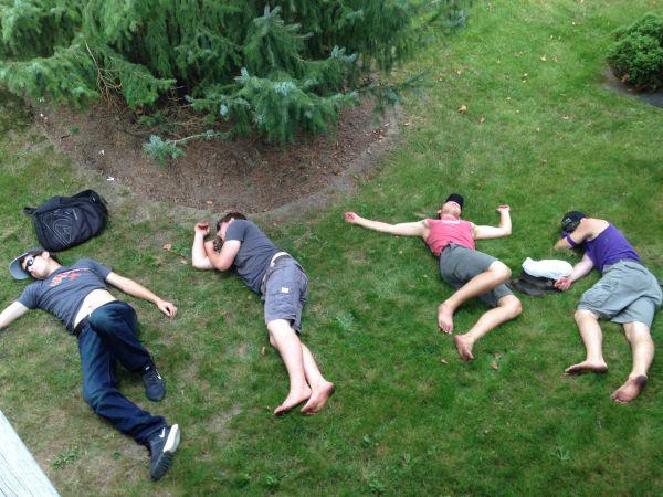 Очень пьяные люди (40 фото)