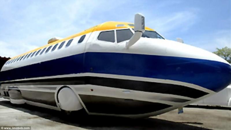 Это не автобус и не самолет, это настоящий лимузин! Правда, с чертами автобуса и самолета. Один энту
