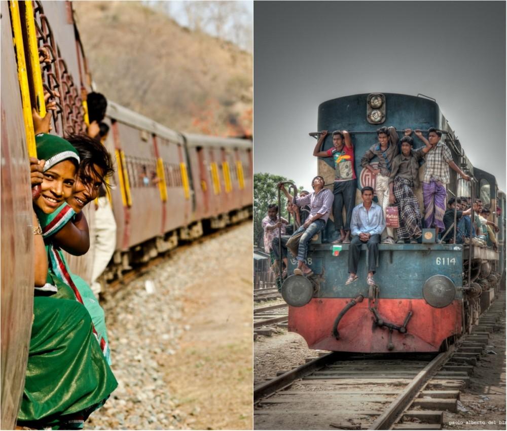 11. Поезда в Индии.
