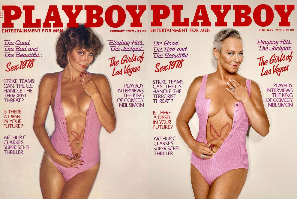 7 моделей Playboy воссоздали свои знаменитые обложки (7 фото) 18+