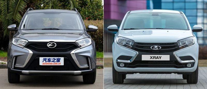 Китайские копии популярных европейских автомобилей (8 фото)