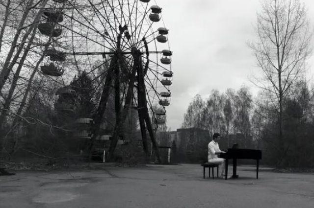 Украинский пианист-виртуоз посвятил видео кгодовщине взрыва наЧернобыльской АЭС