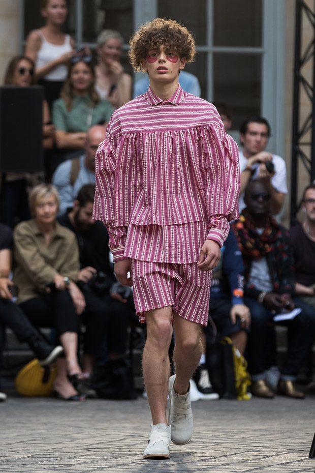 #PFW: Henrik Vibskov Spring Summer 2018 Collection