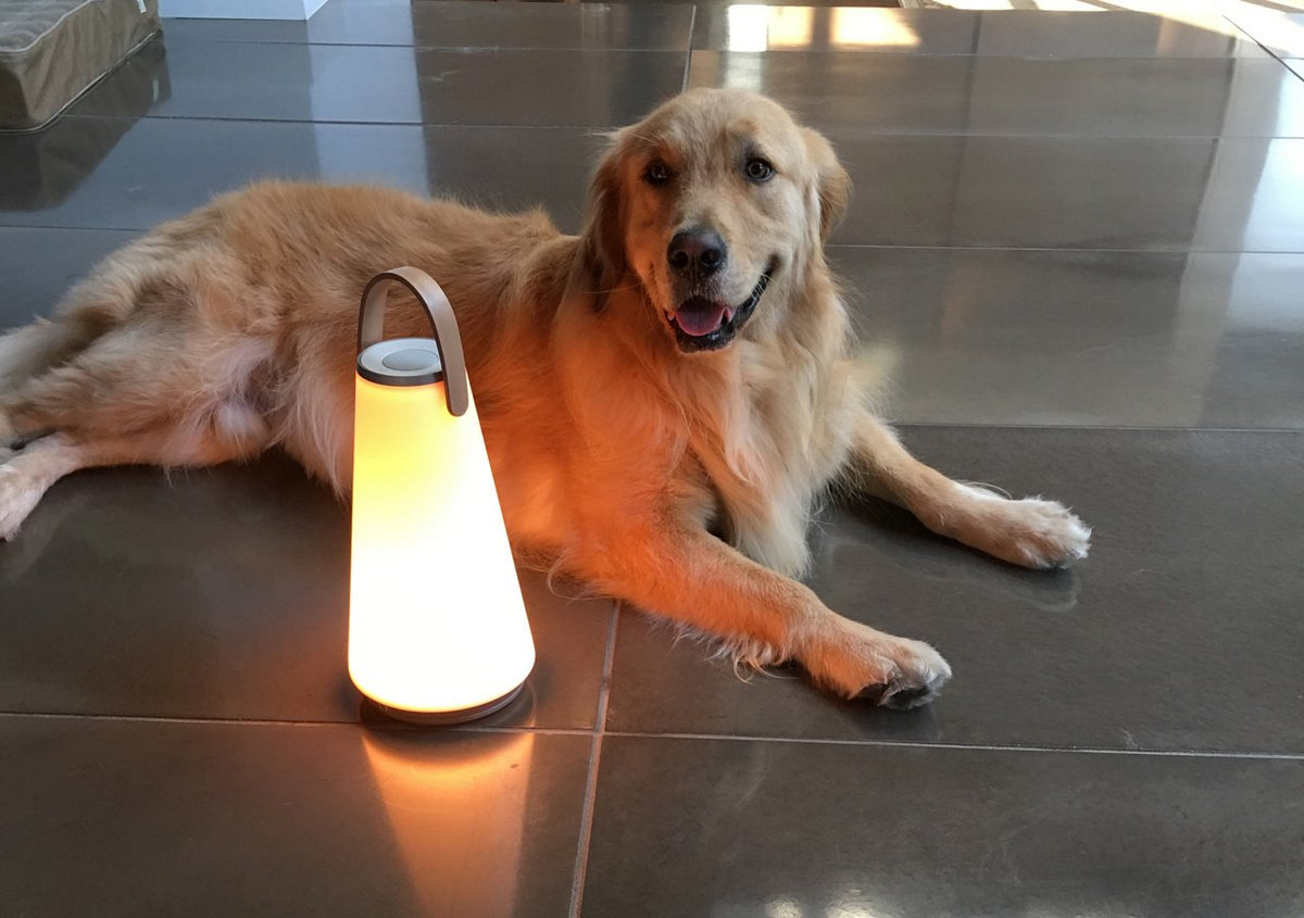 Портативная лампа на аккумуляторе