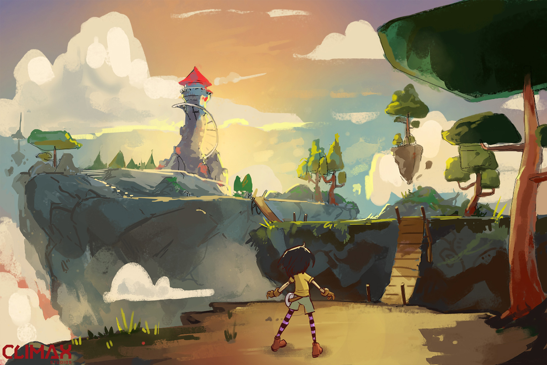 Climax Studios Releases Lola and the Giant Concept Art