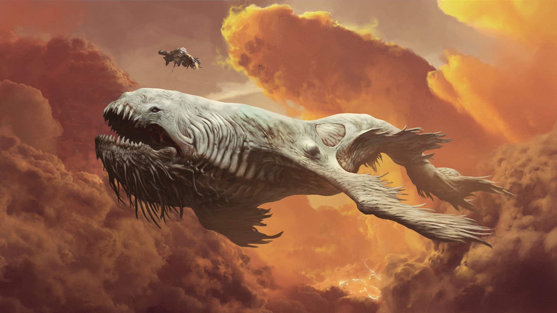 'The Leviathan' Teaser Trailer and Concept Art
