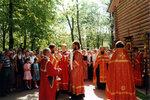Крестный ход после воскресной литургии.