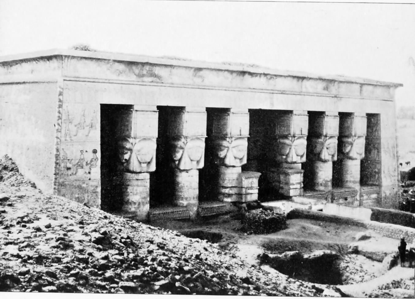 Дендере. Храм богини Хатхор