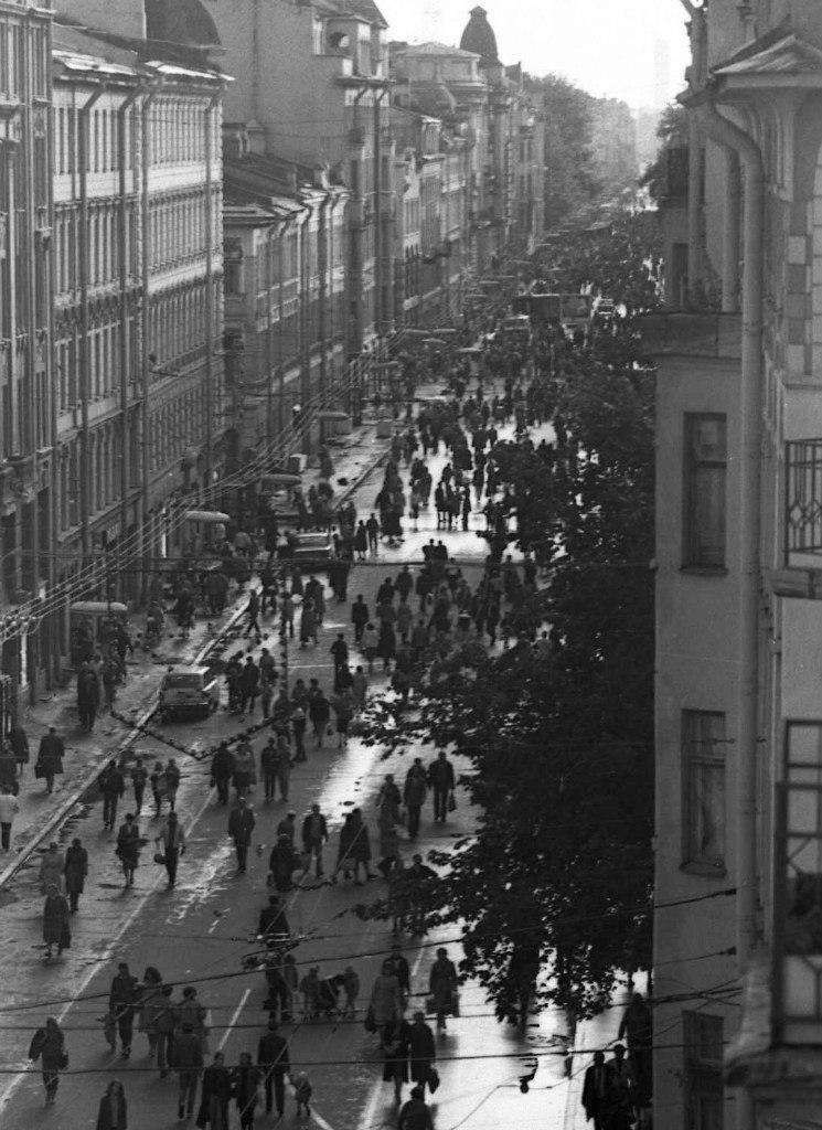 1970-е. Большой проспект Петроградской