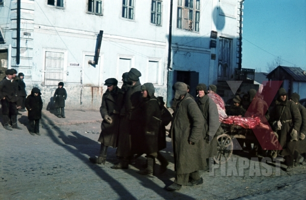 stock-photo-captured-russian-army-prisoners-pull-meat-wagon-ochtyrka-ukraine-winter-1941-94-infantry-division-12052.jpg