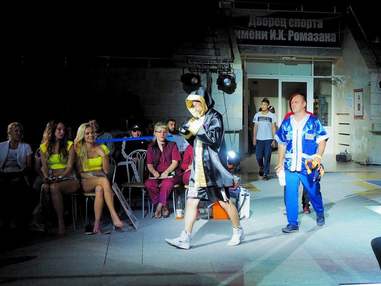 79 Вечер профессионального бокса в Магнитогорске 06.07.2017