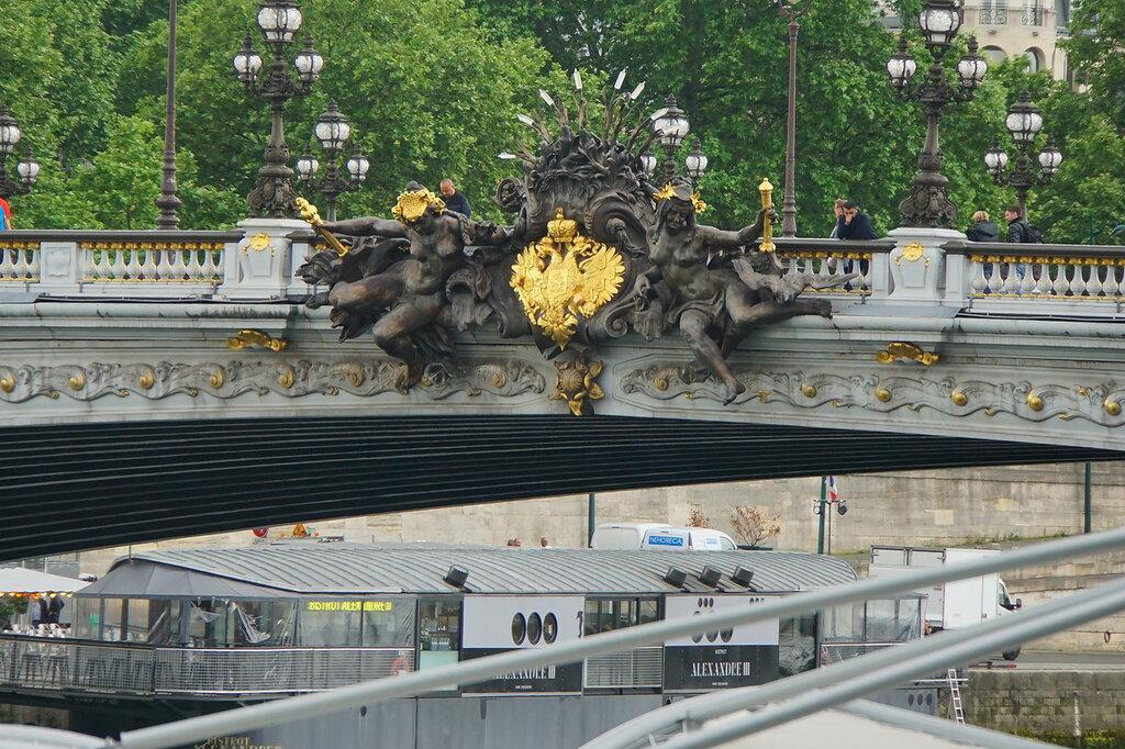 Подарок Александра III французскому народу - мост