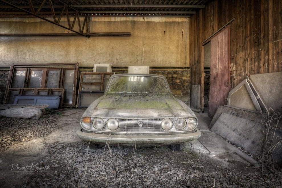 Заброшенные авто на снимках Провоста Кеннета