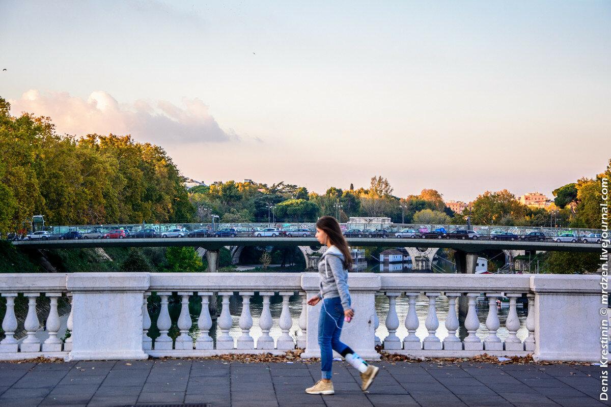 Римские мосты и пробки