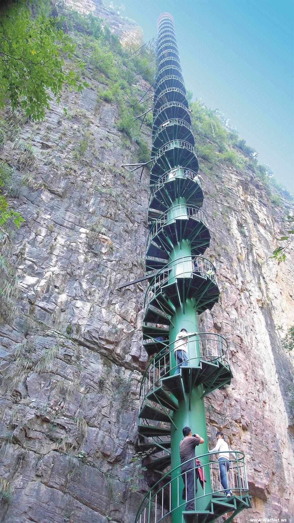 Существует ли такая лестница?