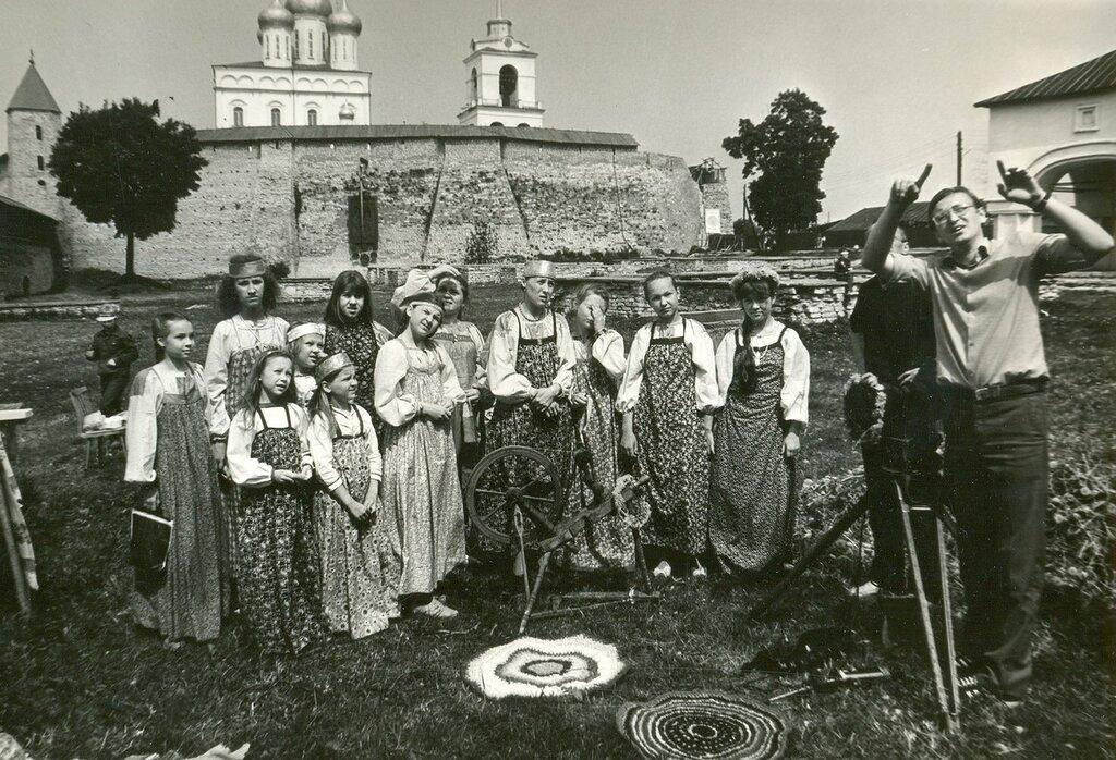 """Съемки фильма """"Александр Пушкин - русский поэт"""""""