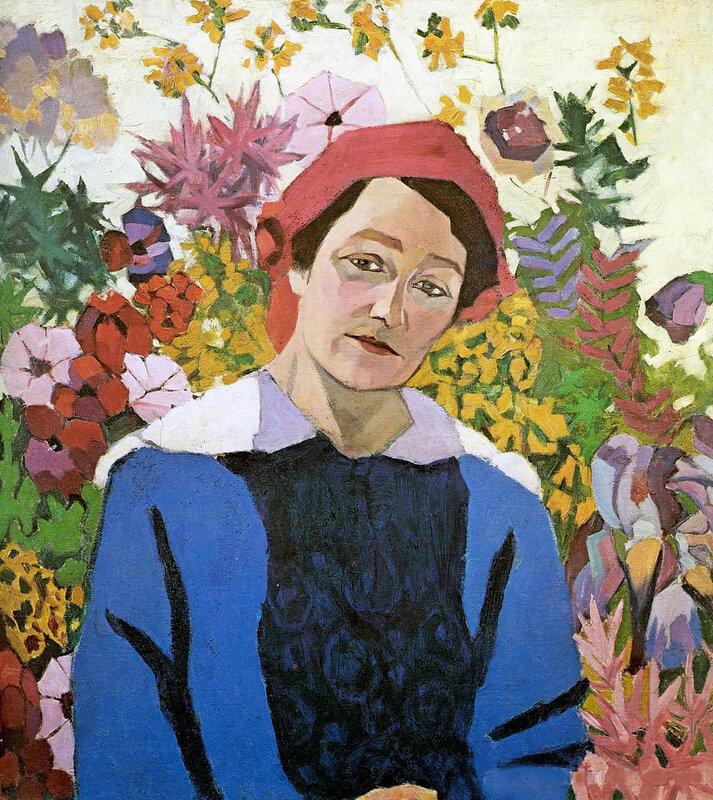 Портрет Марины Петровны Лентуловой