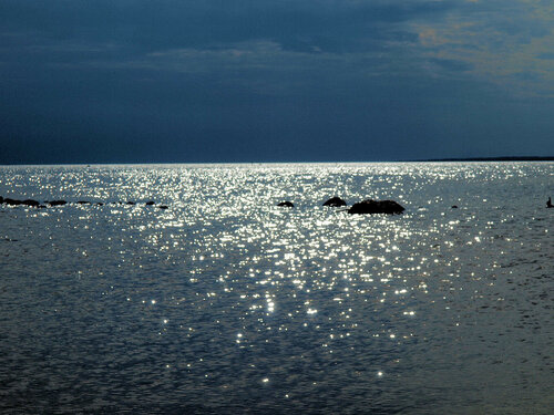 Серебряный ковер воды