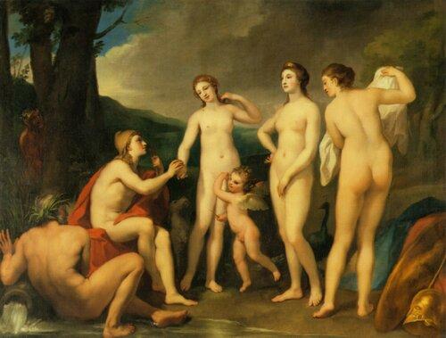 Anton Raphael Mengs; Суд Париса