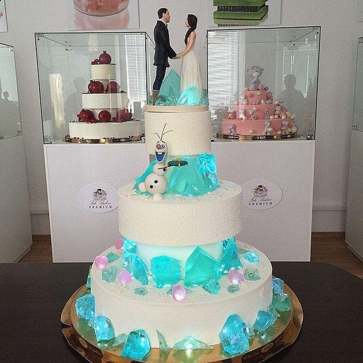 День кондитера. Свадебный торт открытки фото рисунки картинки поздравления