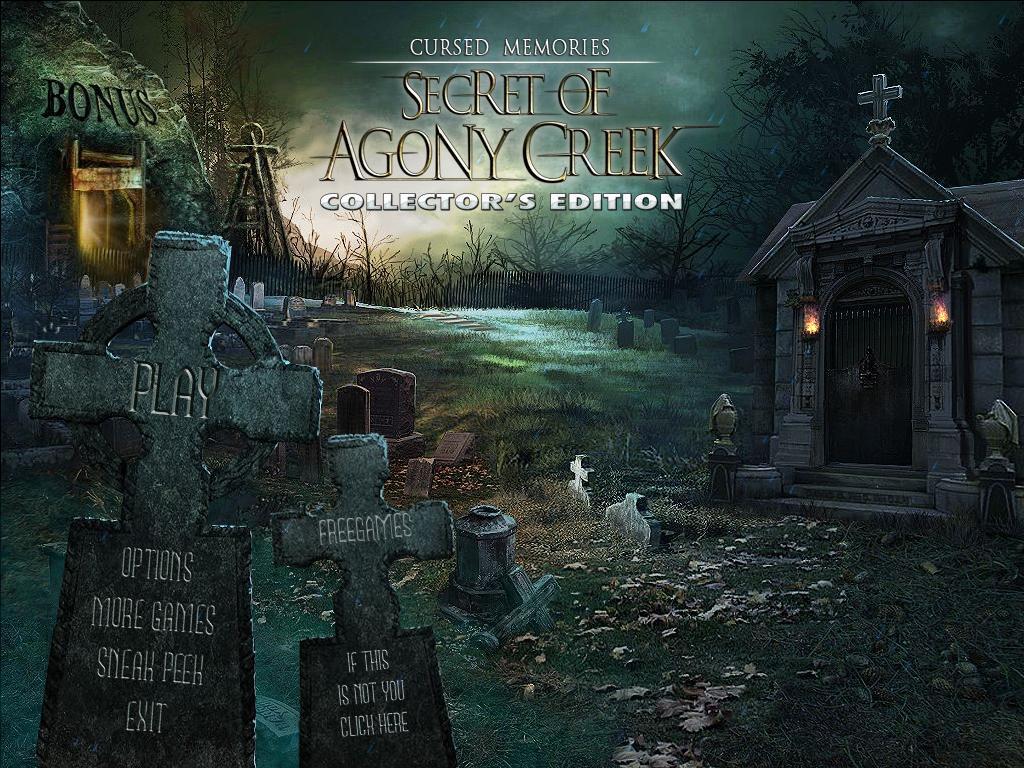 Проклятые воспоминания: Тайна Эгони Крик. Коллекционное издание | Cursed Memories: The Secret of Agony Creek CE (Rus)
