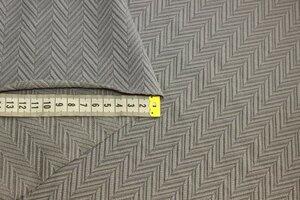 Ит1401 350руб-м Фактурный жаккардовый трикотаж приятного жемчужно-серого цвета,трикотаж приятный,пластичный,отлично тянется в обе стороны,не прозрачный,для платьев,юбок,брюк,кардиганов,кофт,водолазок,для комбинирования с другими тканями,ширина 1,50м,пэ 10