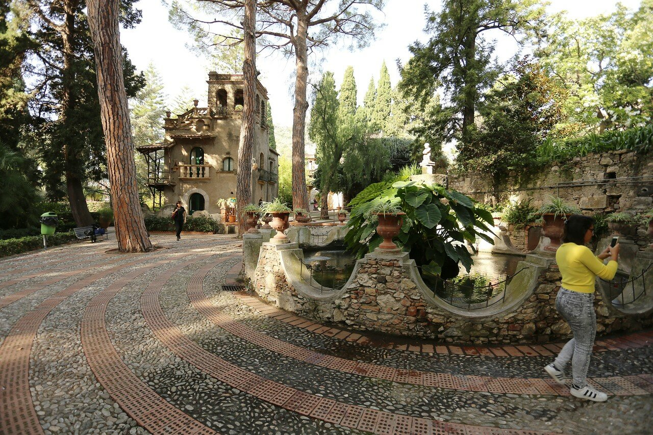 Taormina. Villa Comunale (Parco Duca di Cesarò)